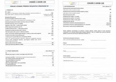 CRM BB Cenník IVF 2.2019